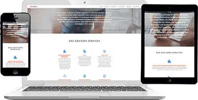 m carter digital website design client das advisers